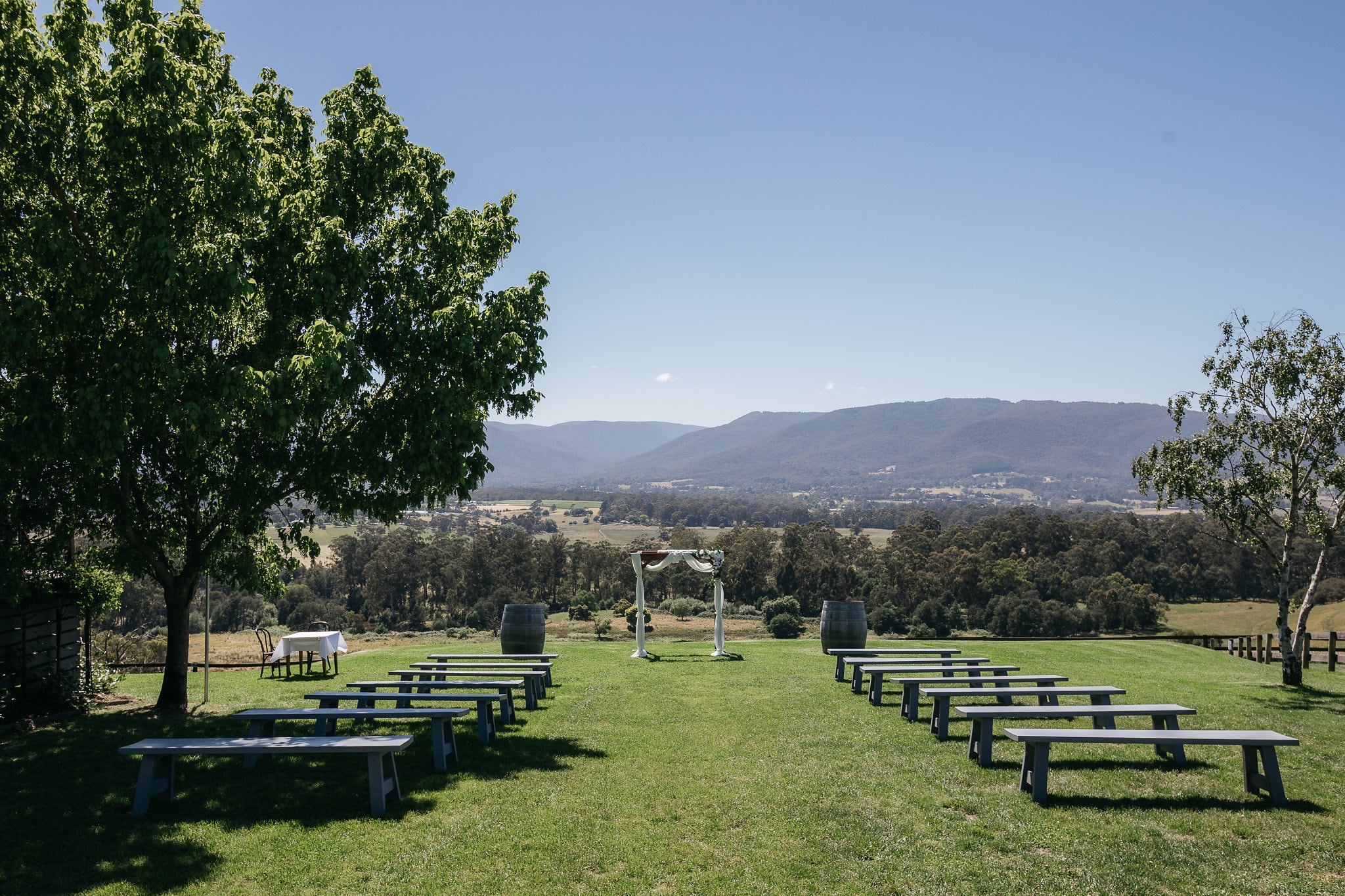 Wedding Ceremonies Yarra Valley