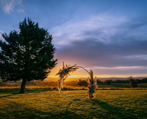 Sunset Elopements Yarra Valley